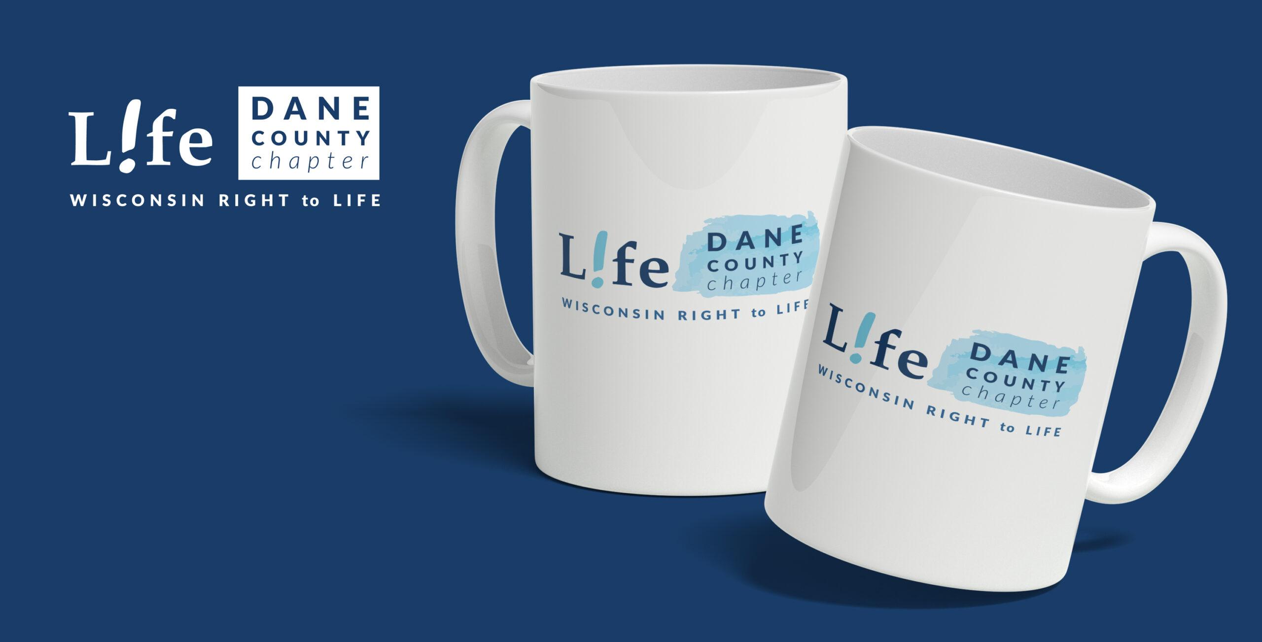 Logo on mugs
